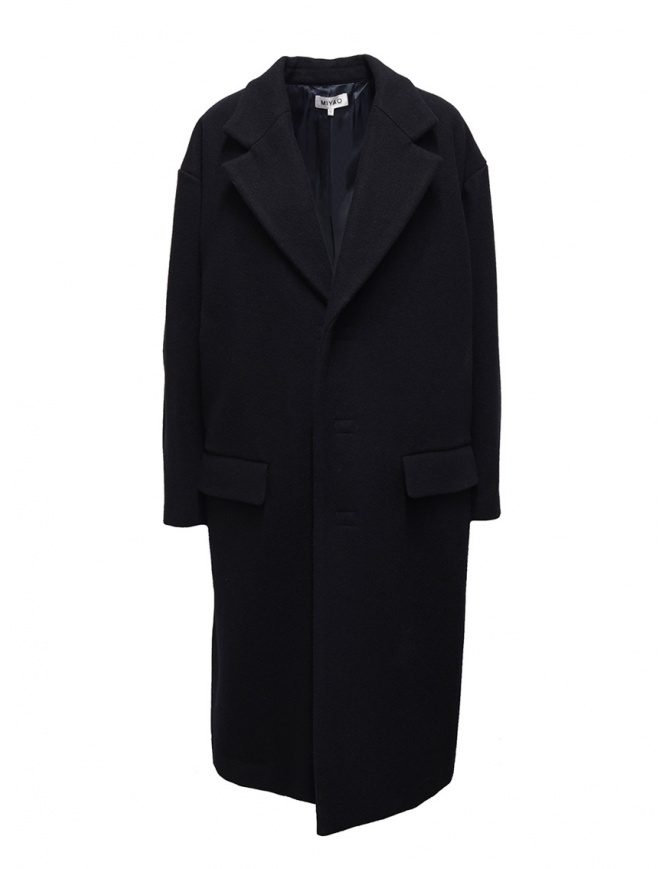 Miyao navy blue egg coat MR-Y-03 NAVY womens coats online shopping