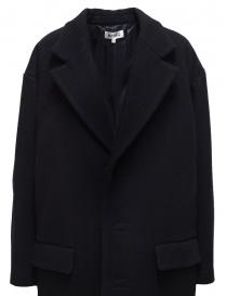 Cappotto Miyao a uovo blu navy cappotti donna acquista online