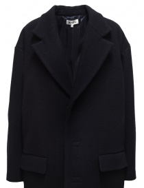 Miyao navy blue egg coat womens coats buy online