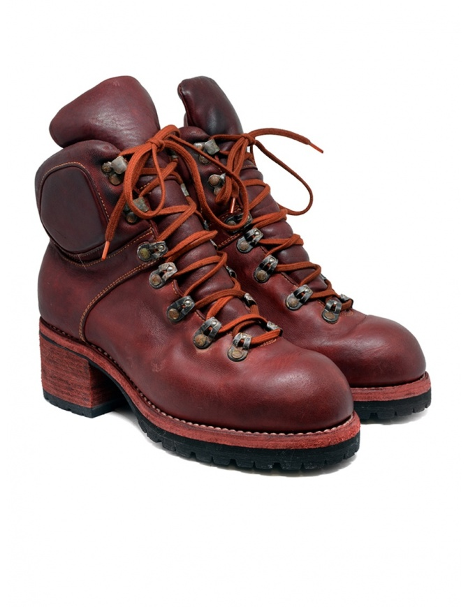 Guidi R19V red horse leather boots R19V HORSE FULL GRAIN 1006T womens shoes online shopping