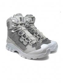Calzature uomo online: Boris Bidjan Saberi Salomon sneakers Slab Boot 2 grigia