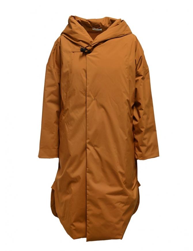 Plantation cappotto piumino rosso mattone PL99FA001 BRICK RED cappotti donna online shopping