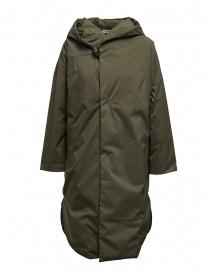 Plantation cappotto piumino khaki PL99FA001 KHAKI order online