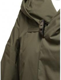 Plantation cappotto piumino khaki cappotti donna acquista online