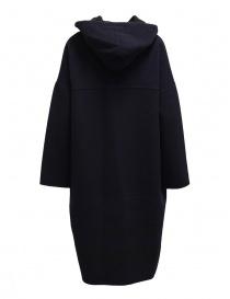Cappotto poncho Plantation blu-nero reversibile cappotti donna acquista online