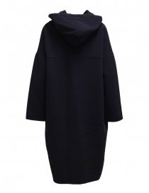 Plantation blue-black reversible poncho coat womens coats buy online