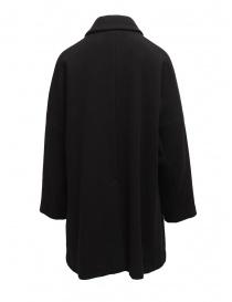 Cappotto Plantation nero collo a camicia prezzo