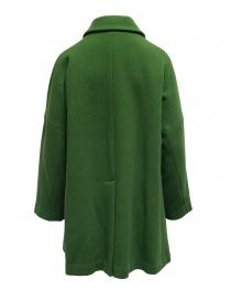 Cappotto Plantation verde collo a camicia prezzo