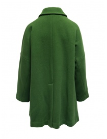 Plantation green coat with shirt collar price