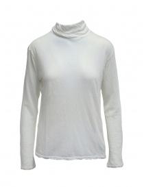 T-shirt Plantation bianca a maniche lunghe scontati online