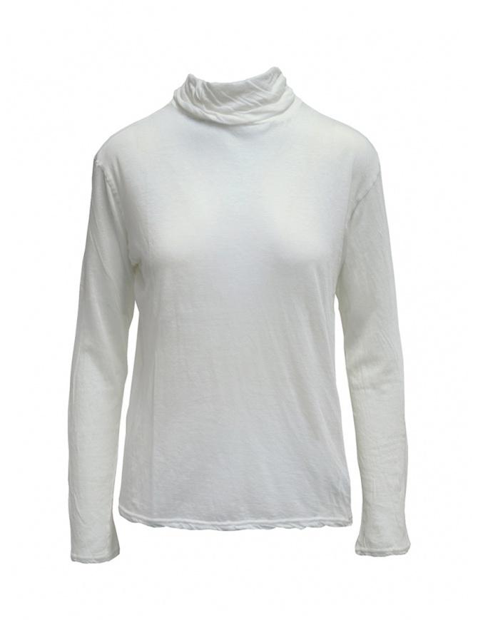 Plantation white long-sleeve t-shirt PL99JJ153 WHITE womens t shirts online shopping