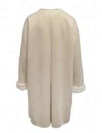 Plantation reversible suede-fur white coat price