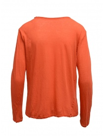 Plantation t-shirt a manica lunga rosso aragosta