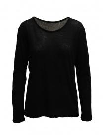 T-shirt Plantation manica lunga nera PL99-JJ152 BLACK