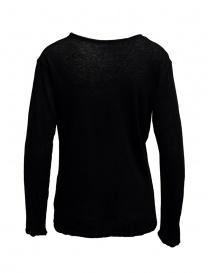 Plantation long-sleeve black t-shirt