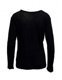 T-shirt Plantation manica lunga nera