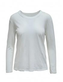 T-shirt Zucca manica lunga bianca scontati online