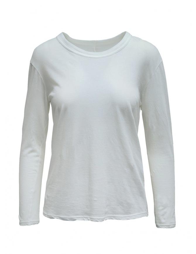 T-shirt Zucca manica lunga bianca ZU99JJ089 WHITE t shirt donna online shopping