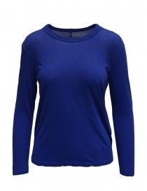 T-shirt Zucca a manica lunga blu scontati online
