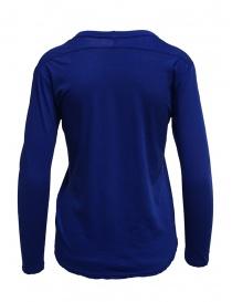 T-shirt Zucca a manica lunga blu