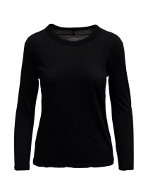 Zucca long sleeve black t-shirt online