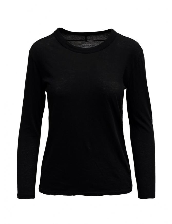 T-shirt Zucca a maniche lunghe nera ZU99JJ089 BLACK t shirt donna online shopping