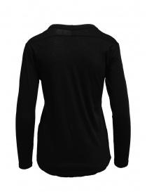 T-shirt Zucca a maniche lunghe nera