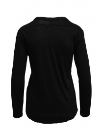 Zucca long sleeve black t-shirt