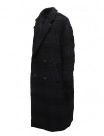 Zucca cappotto doppiopetto blu a quadri prezzo