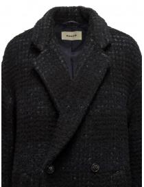 Zucca cappotto doppiopetto blu a quadri cappotti donna acquista online
