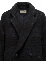 Zucca checkered blue double-breasted coat ZU99FA197 NAVY buy online