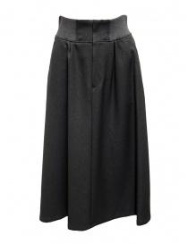 Plantation dark gray trapeze skirt ZU99-FG173 DARK GREY order online