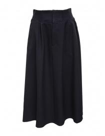 Plantation navy blue trapeze skirt ZU99-FG173 NAVY order online