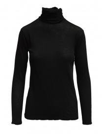 T shirt donna online: Dolcevita Zucca manica lunga nero