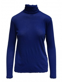 Zucca turtleneck electric blue in cotton online