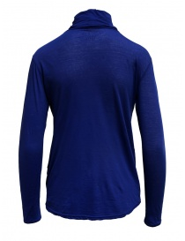Zucca turtleneck electric blue in cotton