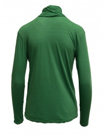 Zucca green cotton turtleneck