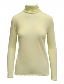 T shirt donna online: Dolcevita Zucca giallo in cotone