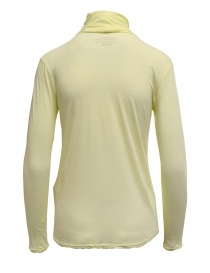 Zucca yellow cotton turtleneck