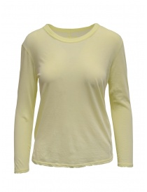 Zucca long sleeved t-shirt in yellow online