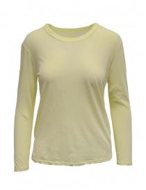 Zucca t-shirt manica lunga gialla scontati online