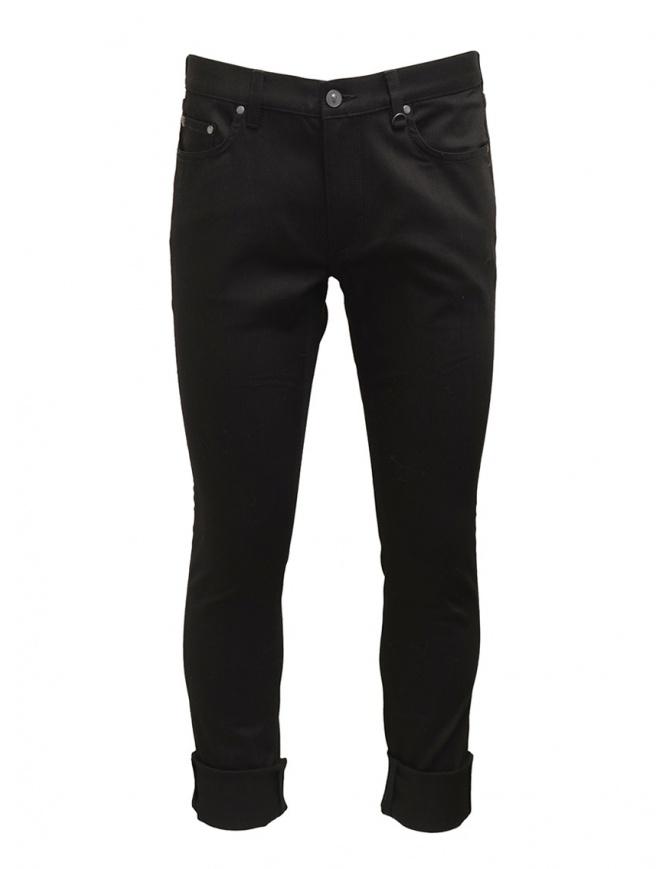 Led Zeppelin X John Varvatos black jeans LZ-J295V4 BPAC BLACK 001 mens jeans online shopping