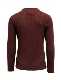 Led Zeppelin X John Varvatos red ribbed henley