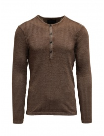 Mens knitwear online: Led Zeppelin X John Varvatos ribbed oat color
