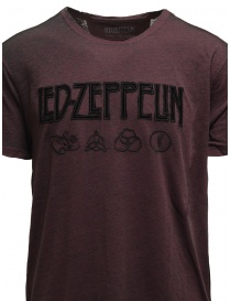 Led Zeppelin X John Varvatos T-shirt bordeaux with symbols price