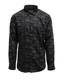 Camicie uomo online: Led Zeppelin X John Varvatos camicia a fiori grigia