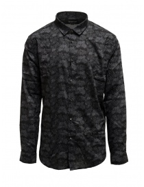 Led Zeppelin X John Varvatos gray floral shirt online