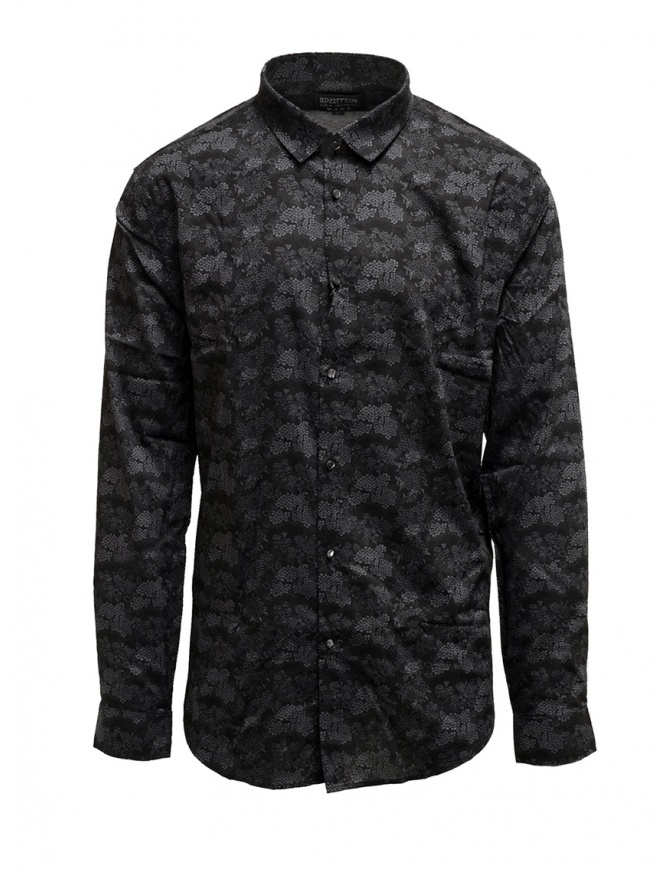 Led Zeppelin X John Varvatos gray floral shirt LZ-W416V4 72KY GREY 021 mens shirts online shopping
