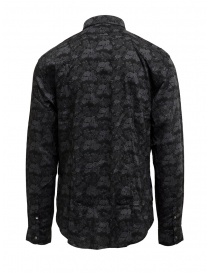 Led Zeppelin X John Varvatos gray floral shirt price