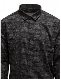 Led Zeppelin X John Varvatos camicia a fiori grigia camicie uomo acquista online